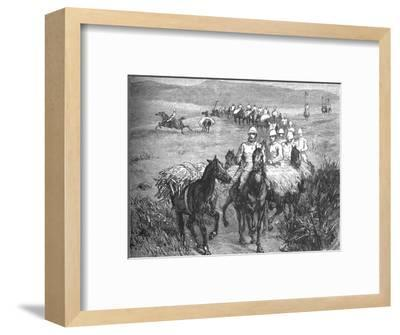 'Lancers Returning from a Foray', c1880-Unknown-Framed Giclee Print