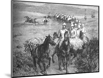 'Lancers Returning from a Foray', c1880-Unknown-Mounted Giclee Print