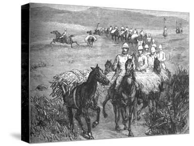 'Lancers Returning from a Foray', c1880-Unknown-Stretched Canvas Print