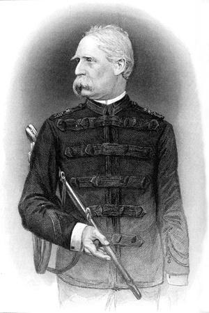 'Sir Donald Stewart', c1880s-Unknown-Framed Giclee Print