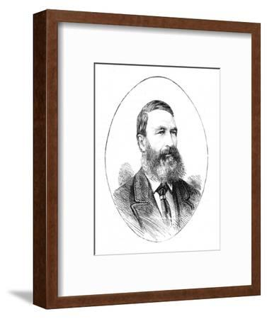 'P. J. Joubert, Commandant-General of the Boer Forces', c1881-Unknown-Framed Giclee Print