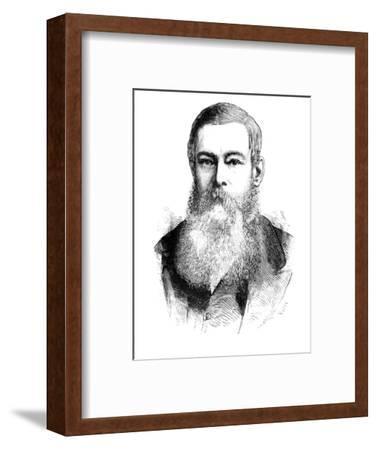 'Mr. J. H. Brand, President of the Orange Free State', c1880-Unknown-Framed Giclee Print