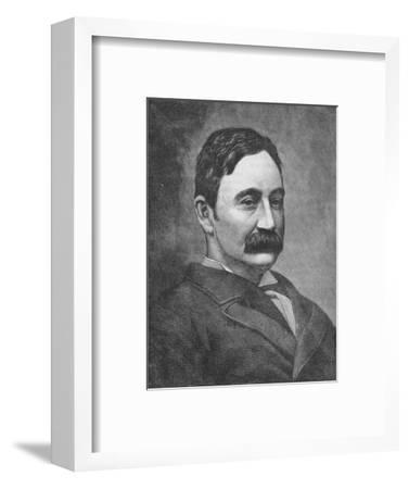 'Colonel Fred Burnaby', c1881-85-Unknown-Framed Giclee Print