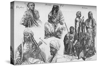 'Arabs of the Soudan', c1881-85-Unknown-Stretched Canvas Print