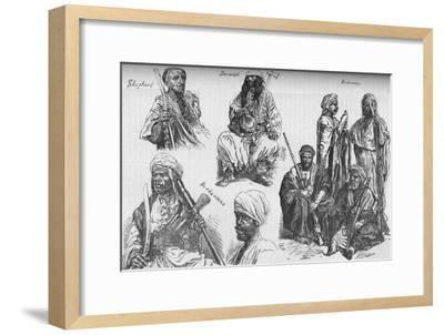 'Arabs of the Soudan', c1881-85-Unknown-Framed Giclee Print