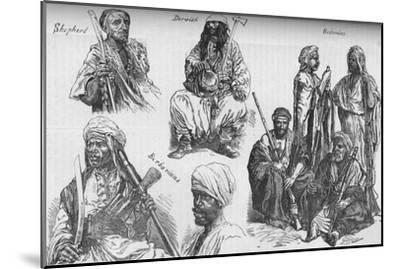 'Arabs of the Soudan', c1881-85-Unknown-Mounted Giclee Print