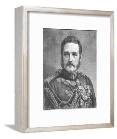 'General Earle', c1885-Unknown-Framed Giclee Print