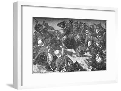 'The Battle of El Teb', c1881-85-Unknown-Framed Giclee Print