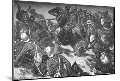 'The Battle of El Teb', c1881-85-Unknown-Mounted Giclee Print