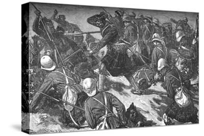 'The Battle of El Teb', c1881-85-Unknown-Stretched Canvas Print