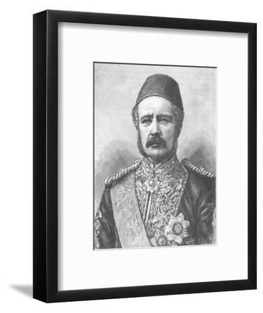 'General Gordon', c1885-Unknown-Framed Giclee Print