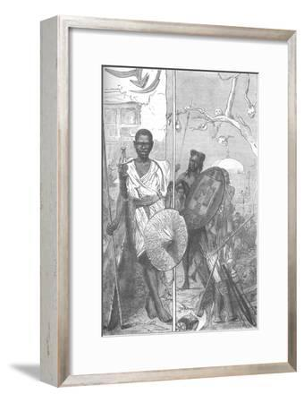 'Warriors of the Mahdi', c1885-Unknown-Framed Giclee Print