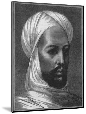 'The Mahdi', c1885-Unknown-Mounted Giclee Print