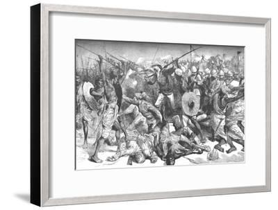 'Death of Colonel Burnaby', c1885-Unknown-Framed Giclee Print