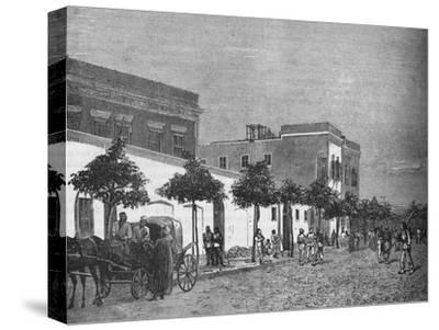'Arabi Pasha's House, Cairo', c1882-1885-Unknown-Stretched Canvas Print