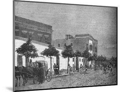 'Arabi Pasha's House, Cairo', c1882-1885-Unknown-Mounted Giclee Print