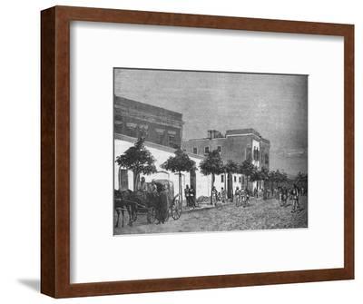 'Arabi Pasha's House, Cairo', c1882-1885-Unknown-Framed Giclee Print