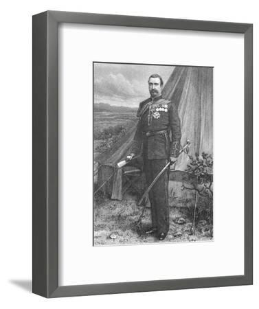'Sir Redvers Buller', c1881-85-Unknown-Framed Giclee Print
