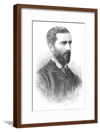 'Sir E. B. Malet', c1882-85-Unknown-Framed Giclee Print
