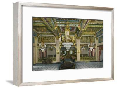 'Elaborate Interior of Casino and Famous Gold Bar, Hotel Agua Caliente', c1939-Unknown-Framed Giclee Print