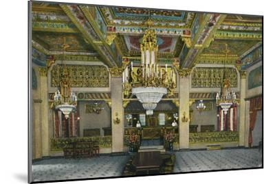 'Elaborate Interior of Casino and Famous Gold Bar, Hotel Agua Caliente', c1939-Unknown-Mounted Giclee Print