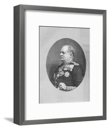 'Sir Herbert Macpherson', c1882-Unknown-Framed Giclee Print