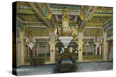 'Elaborate Interior of Casino and Famous Gold Bar, Hotel Agua Caliente', c1939-Unknown-Stretched Canvas Print