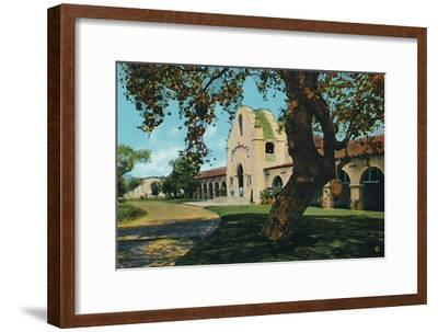 'Hotel Agua Caliente', c1939-Unknown-Framed Giclee Print
