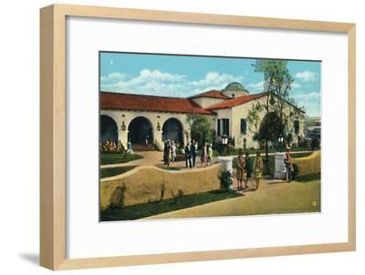 'The Casino, Agua Caliente', c1939-Unknown-Framed Giclee Print