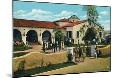 'The Casino, Agua Caliente', c1939-Unknown-Mounted Giclee Print