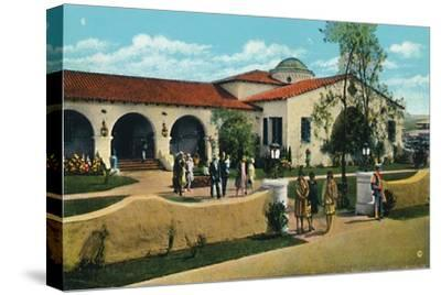 'The Casino, Agua Caliente', c1939-Unknown-Stretched Canvas Print