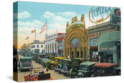 'Main Street', c1939-Unknown-Stretched Canvas Print