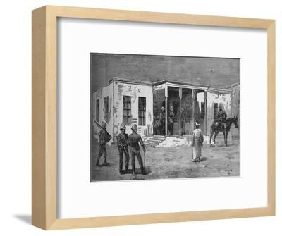 'Arabi's Prison in the Abbassieh Barracks', c1882-Unknown-Framed Giclee Print