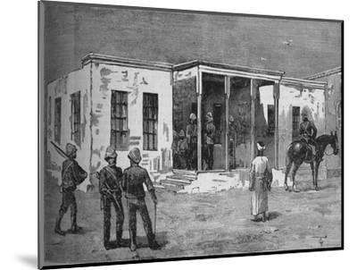 'Arabi's Prison in the Abbassieh Barracks', c1882-Unknown-Mounted Giclee Print