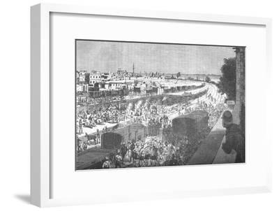 'Occupation of Zagazig, after the Battle of Tel-El-Kebir', c1882-Unknown-Framed Giclee Print