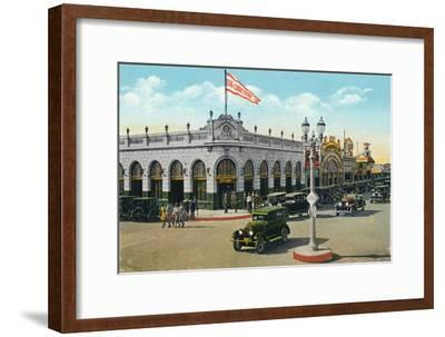 'Main and Second Streets', c1939-Unknown-Framed Giclee Print