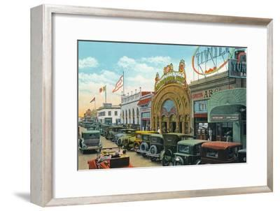 'Main Street', c1939-Unknown-Framed Giclee Print
