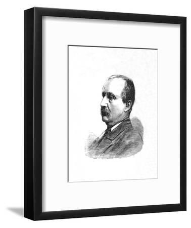 'The Hon. J. C. Dormer, Deputy-Adjutant-General', c1882-85-Unknown-Framed Giclee Print