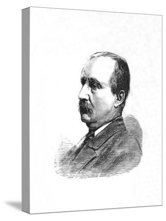 'The Hon. J. C. Dormer, Deputy-Adjutant-General', c1882-85-Unknown-Stretched Canvas Print