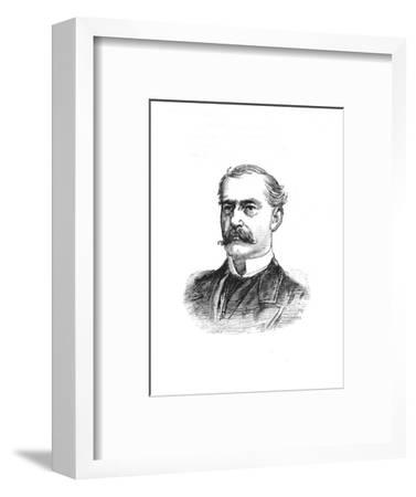 'Surgeon-General Hanbury', c1882-85-Unknown-Framed Giclee Print