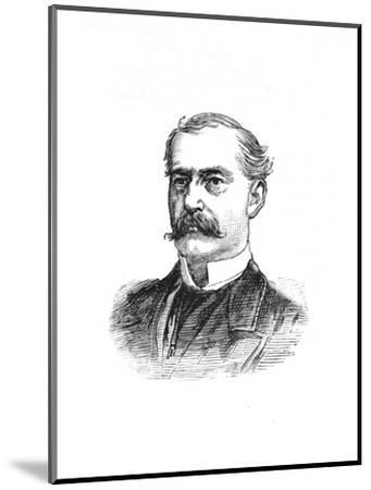 'Surgeon-General Hanbury', c1882-85-Unknown-Mounted Giclee Print