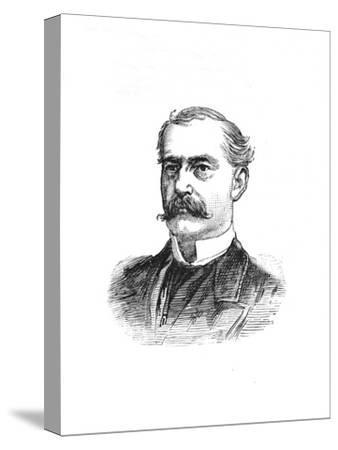 'Surgeon-General Hanbury', c1882-85-Unknown-Stretched Canvas Print