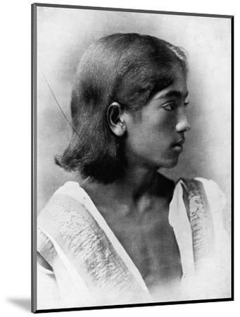 'This is a Photograph of J. Krishnamurti', c1911, (1911)-Unknown-Mounted Photographic Print