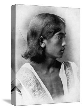 'This is a Photograph of J. Krishnamurti', c1911, (1911)-Unknown-Stretched Canvas Print