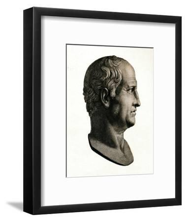 'Cicero the Roman Consul', c1900, (1912)-Unknown-Framed Giclee Print