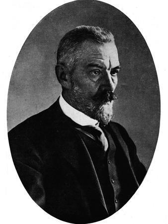'Herr Bethmann-Hollweg', c1890, (1911)-Unknown-Framed Photographic Print