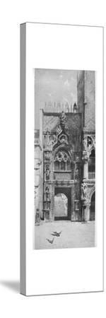 'Entrance to the Doges' Palace', c1870, (1911)-David Law-Stretched Canvas Print