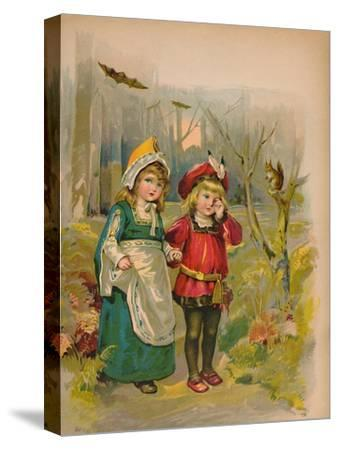 'The Babes in the Wood', 1903-Unknown-Stretched Canvas Print
