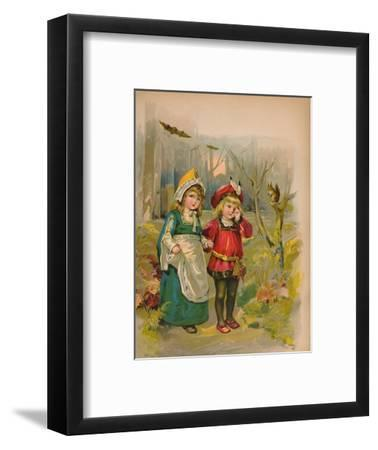 'The Babes in the Wood', 1903-Unknown-Framed Giclee Print