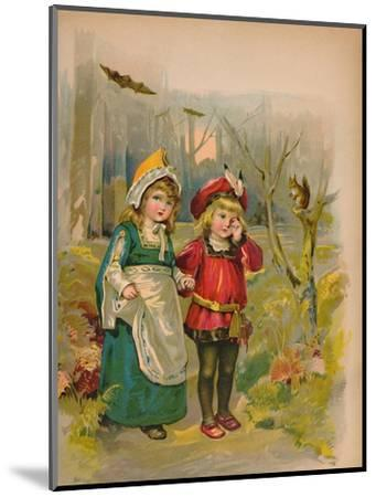 'The Babes in the Wood', 1903-Unknown-Mounted Giclee Print